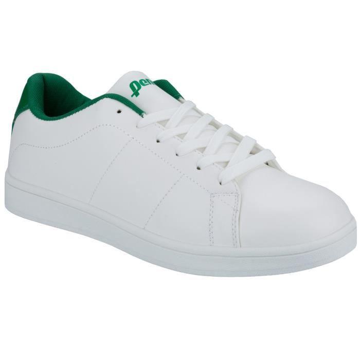 homme en pour à blanc et Court Penn vert Baskets lacets WfX1Sqq