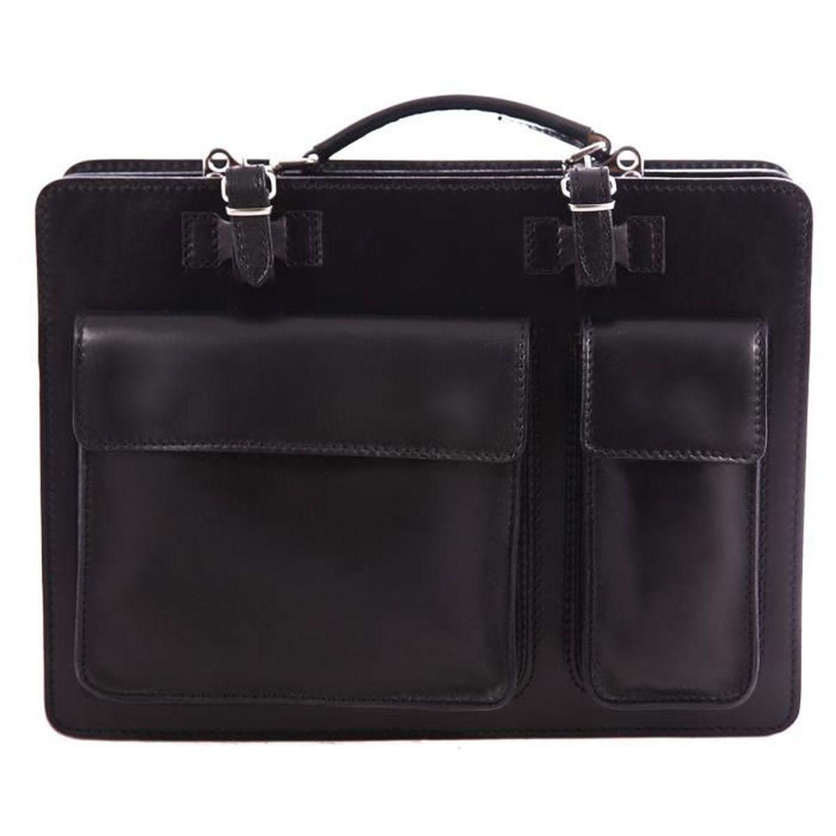 porte document en cuir homme achat vente porte document en cuir homme pas cher black. Black Bedroom Furniture Sets. Home Design Ideas