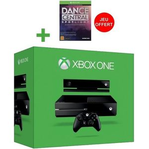 CONSOLE XBOX ONE Xbox One 500 Go Noire + Kinect + Dance Central