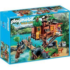 PLAYMOBIL 5557 Cabane des aventuriers dans les arbres