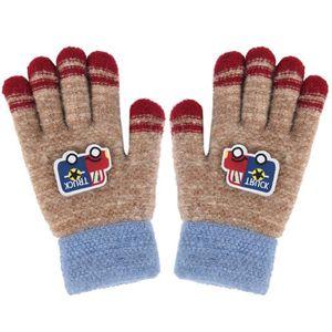 7bb58a2f4d63 GANT - MITAINE Gants tricotés Gants d hiver épaissis Gants chauds