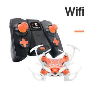 DRONE SCY61209101OR®Cadeau FY-601W Drone 2.4G 4CH 6-Axis