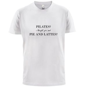 T-SHIRT I Thought You Said Pie & Lattes - Homme T-Shirt -