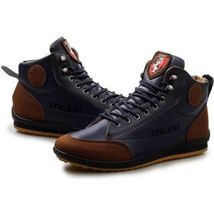 Homme Pas Cher Cuir Chaussures Montantes Achat Vente by67gIfvYm