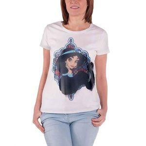 T-SHIRT Aladdin T Shirt Princes Jasmine officiel Disney Fe