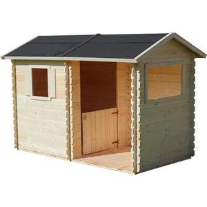 MAISONNETTE EXTÉRIEURE Cabane en bois pour enfant  ROSANE