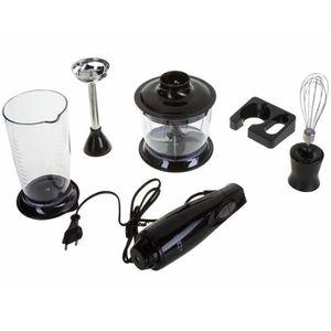 MIXEUR ÉLECTRIQUE Kit mixeur plongeant 3en1 Sinbo SHB-3029 noir