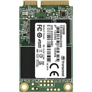 DISQUE DUR SSD Transcend mSATA SSD 230S 64GB, 64 Go, mSATA, Série
