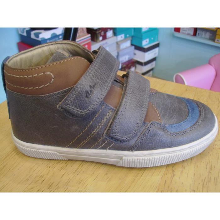 Chaussures garçons ASTER P29 à Boots scratchs enfants 4Fw1qrx4