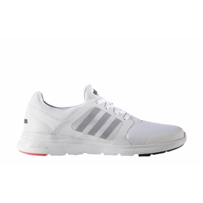 chaussures adidas neo cloudfoam femme blanches