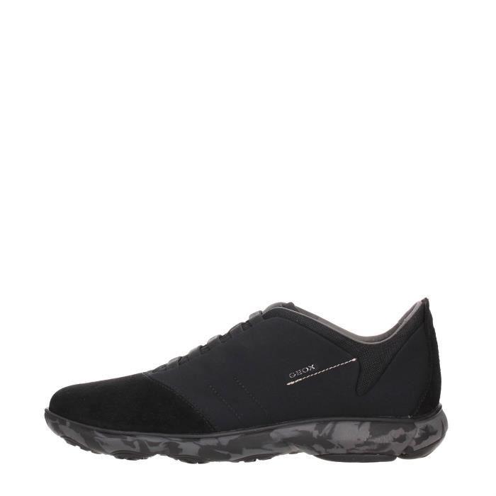 Geox Sneakers Homme STONE, 45 Black
