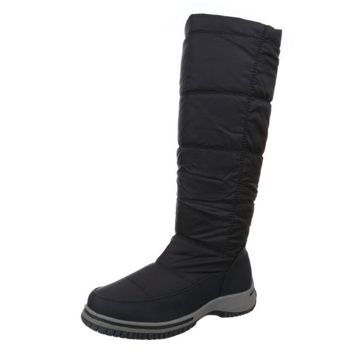 Femme chaussures bottillon doublé chaud bottes noir 40 k0kah0