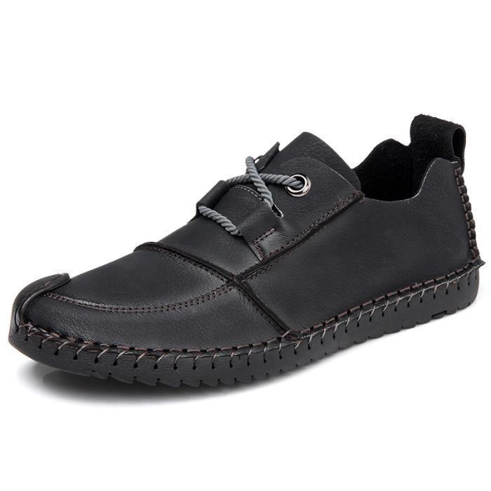 Chaussures Homme Bateau homme Bateau en daim Chaussures de ville Chaussures populaires Chaussures plates Confortables et légères PM64zHQ