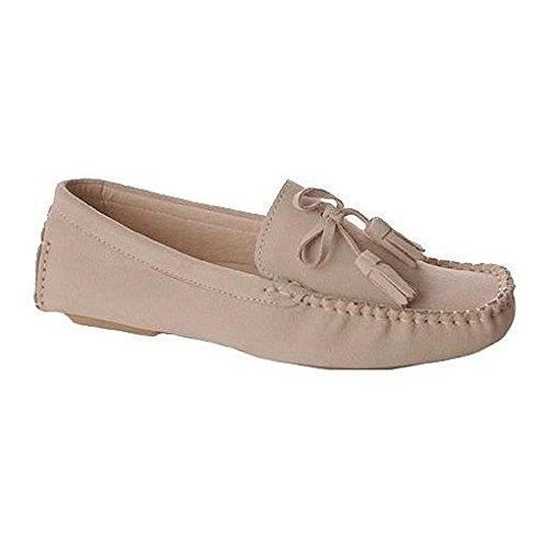 Casual Stylish Leather And Suede Loafer Moccasins Slipper Shoe TKTGC Taille-40