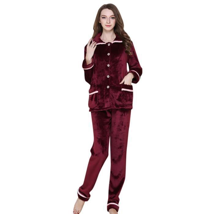 Coton Les Femmes De Set Casual Nuits Nuit Chemise Sleepshirt Suitthicken qRP5TrnR