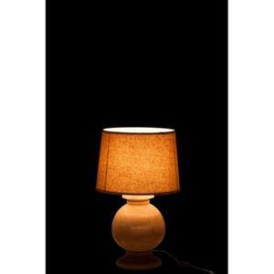 lampe avec pied bois achat vente lampe avec pied bois pas cher cdiscount. Black Bedroom Furniture Sets. Home Design Ideas