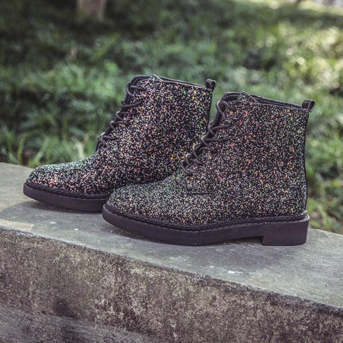 Avslappnad Cheville Martin Briller 8474 Chaussures Femmes Bottes Bottillons wfdSqI