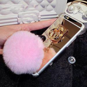 coque iphone 7 plus pompon