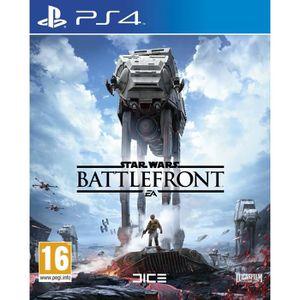 JEU PS4 Playstation 4 Star Wars Battlefront