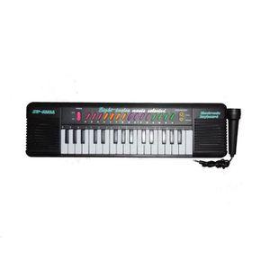 CLAVIER MUSICAL PETIT PIANO ELECTRIQUE POUR ENFANT AVEC MICRO POUR