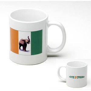 BOL - MUG - MAZAGRAN Tasse Mug Elephant Cote d' Ivoire