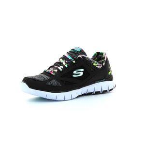 Skechers Sneakers Homme Noir 46 Noir Noir - Achat / Vente basket  - Soldes* dès le 27 juin ! Cdiscount