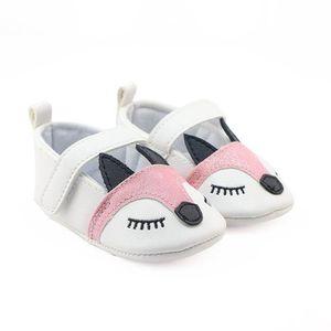 Frankmall®Bébé filles Bow tricotage chaussures de berceau semelles douces anti-dérapant espadrilles NOIR#WQQ0926346 ULiLBuQG