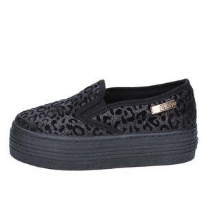 MOCASSIN GUESS Chaussures Femme Mocassin  Noir BY643