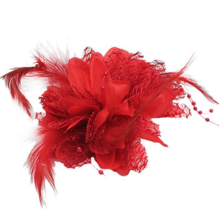 fleur rouge pour cheveux achat vente fleur rouge pour. Black Bedroom Furniture Sets. Home Design Ideas
