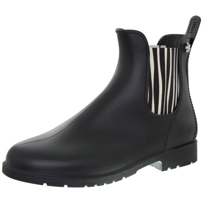 Femme Boots Jumpzebr Noir Meduse Low Achat Bottines P1wS68nq