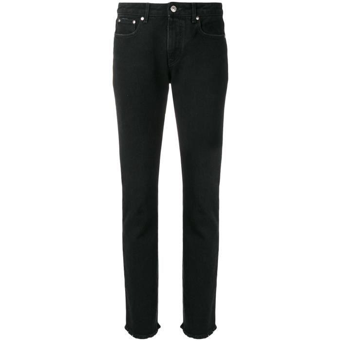Femme Noir Achat Coton Jeans 2342mdp168lx17477399 Msgm xsCrthdQ