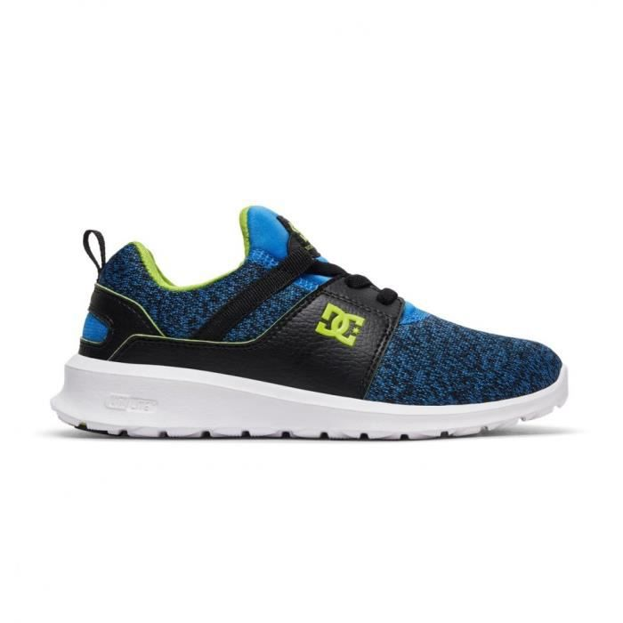 Chaussures DC Heathrow Tx Se Youth Blue Black White Xbkw