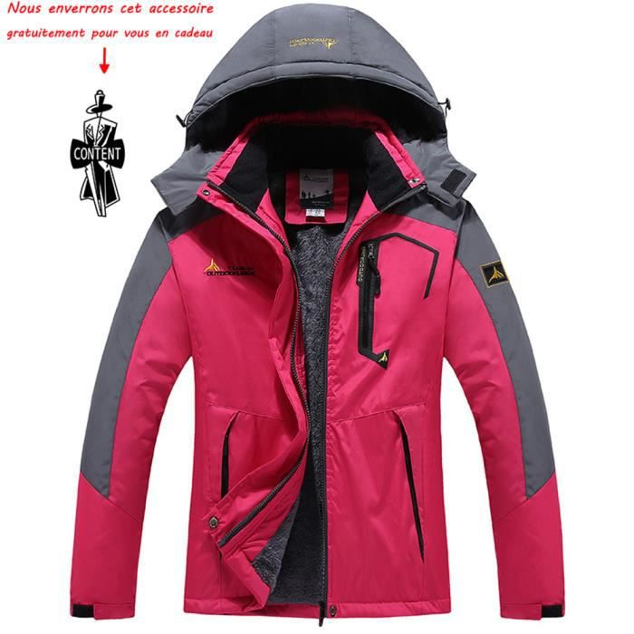 Femmes Vent Veste Anorak Doudoune Coupe Blouson Hiver Vêtement Imperméable Ski Pluie De Pour Marque Femme Polaire oQCWerdxB