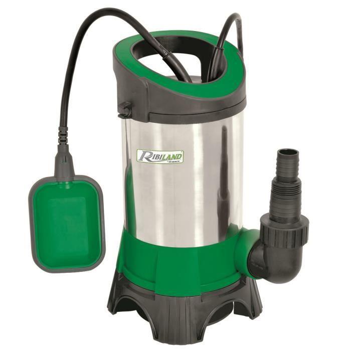 pompe immergée inox 900w pour eaux chargées - achat / vente pompe