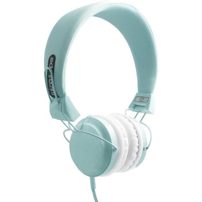 CASQUE - ÉCOUTEURS WIZE & OPE Casque Audio - Bleu