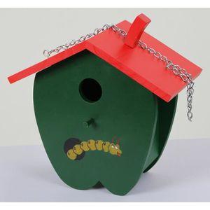 KERBL Nichoir Green Apple pour oiseaux - 23x14x22cm