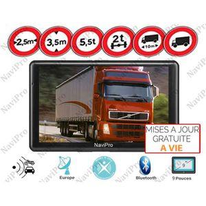PACK GPS AUTO GPS POIDS LOURDS 9 POUCES HD EUROPE