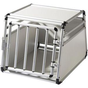CAISSE DE TRANSPORT EUGAD Cage de transport pour chien en aluminium, C
