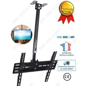 FIXATION - SUPPORT TV TD Support murale tv orientable et inclinable univ
