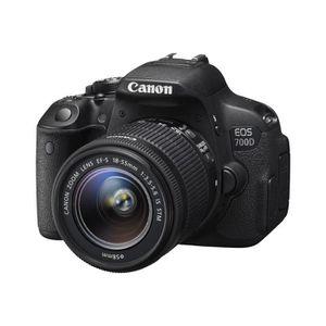 APPAREIL PHOTO RÉFLEX Canon EOS 700D Appareil photo numérique Reflex 18.