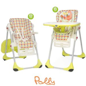 CHAISE HAUTE  CHICCO Chaise Haute Polly 2 In 1 Sunny