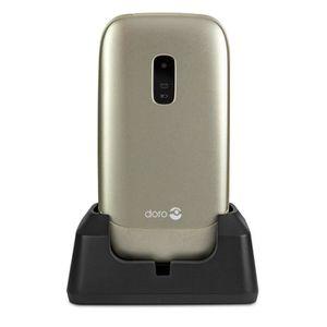 Téléphone portable Doro 6030 Champagne - Téléphone Senior