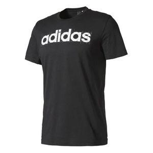 T-SHIRT Adidas Performance Tshirt Linear Adidas noir, vête
