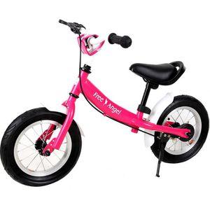 VÉLO ENFANT Vélo Street enfant rose - Selle et guidon réglable