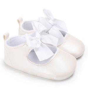 Bodhi@ Infant Toddler bébé garçons filles pompon semelle souple PU Chaussures Marron 6-12 mois EHb0JuW