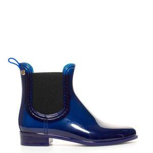 BOTTE Leeds bleu bottes en caoutchouc