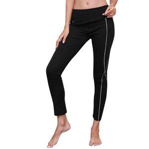 4f71b60cc486 PANTALON Pantalon de yoga femme réfléchissant Sport Gym Ski ...