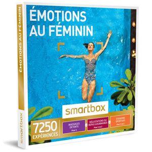 COFFRET SÉJOUR Coffret cadeau - Émotions au féminin – Smartbox