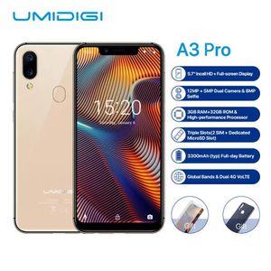 SMARTPHONE UMIDIGI A3 Pro 3 GO + 32 GO Face ID + Fingerprint