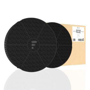 FILTRE POUR HOTTE FC32 - filtre à charbon compatible hotte Whirlpool